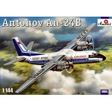 AMO-1464 1/144 An-24 model kit