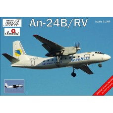 AMO-146401 1/144 An-24 model kit