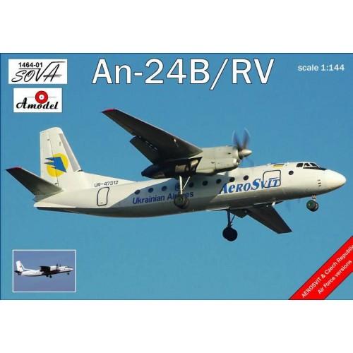 AMO-146401 1/144 An-24 model kit
