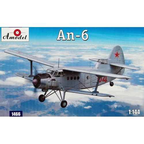 AMO-1466 1/144 An-6 model kit