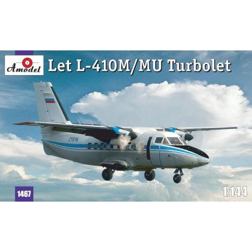 AMO-1467 1/144 L-410 model kit