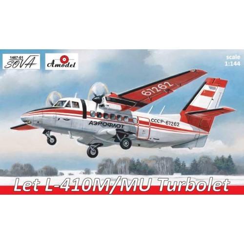 AMO-146701 1/144 L-410 model kit