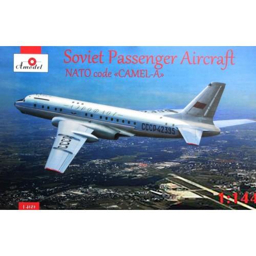 AMO-1469 1/144 Tu-104A model kit
