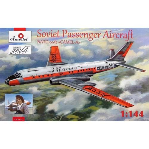 AMO-146901 1/144 Tu-104A model kit