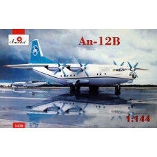 AMO-1470 1/144 An-12B Antonov Airliners and Phoenix Avia model kit