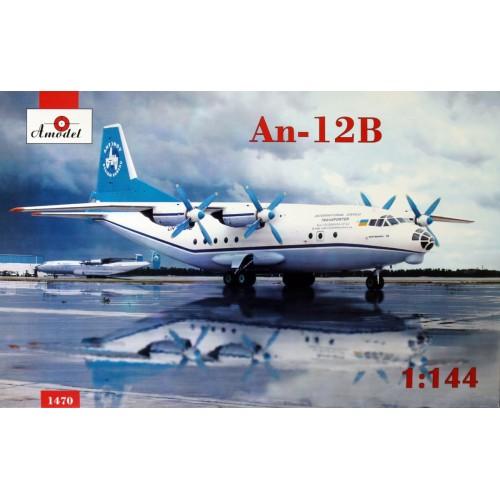 AMO-1470 1/144 An-12B Antonov Airliners and Phoenix Avia model kit