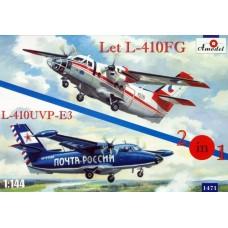 AMO-1471 1/144 L-410FG and L-410UVP-E3 model kit