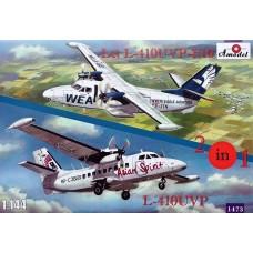 AMO-1473 1/144 L-410UVP and L-410UVP-E10 model kit