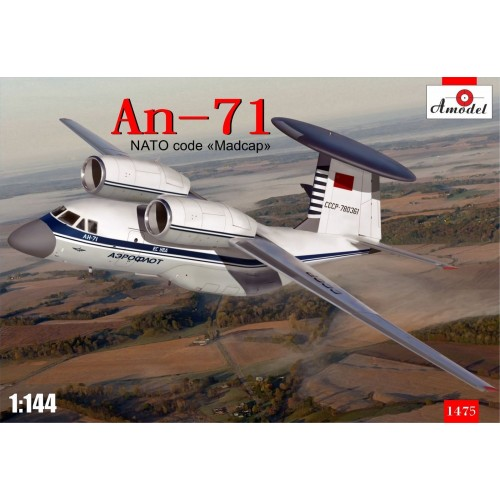 AMO-1475 1/144 An-71 model kit