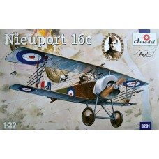 AMO-3201 1/32 Nieuport 16c British model kit