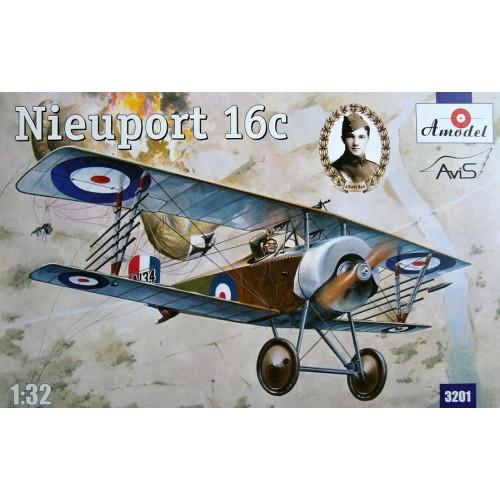 AMO-3201 1/32 Nieuport 16c British model kit