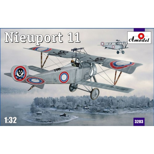 AMO-3203 1/32 Nieuport 11 Russia model kit