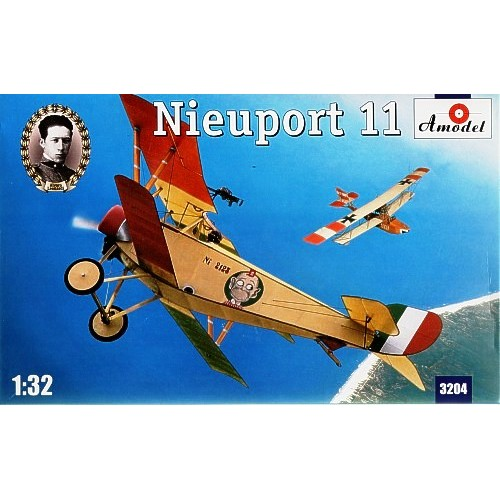 AMO-3204 1/32 Nieuport 11 Italiya model kit