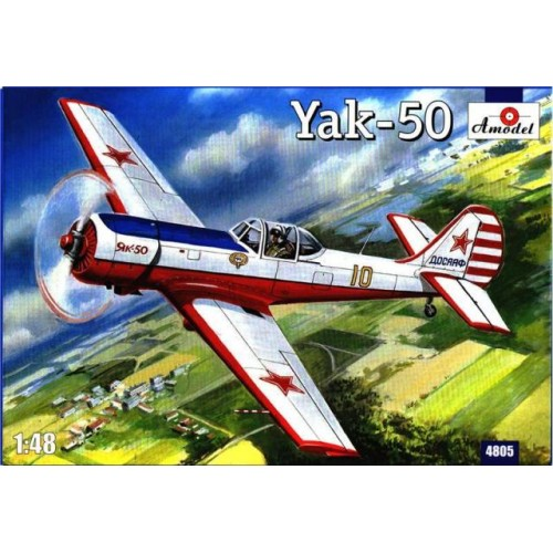 AMO-4805 1/48 Yak-50 model kit