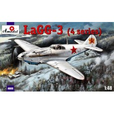 AMO-4809 1/48 Lagg-3 model kit