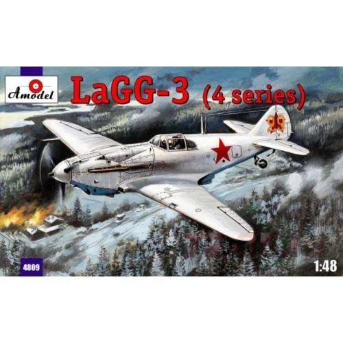 AMO-4809 1/48 Lagg-3 model kit