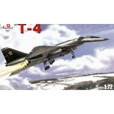 AMO-72001 1/72 Sukhoi T-4 Sotka (100) Soviet Heavy Supersonic Bomber model kit