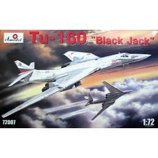 AMO-72007 1/72 Tupolev Tu-160 Blackjack Russian AF Strategic Bomber model kit