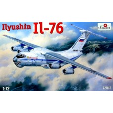 AMO-72012 1/72 Ilyushin Il-76 Military Jet Transport Aircraft model kit