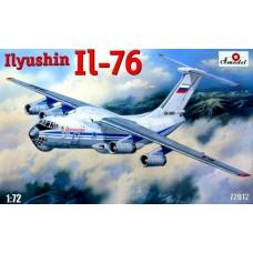 AMO-72012 1/72 Ilyushin Il-76 Military Jet Transport Aircraft model kit