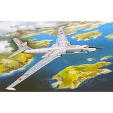 AMO-72014 1/72 Myasischev 3MD Heavy Jet Strategic Bomber model kit