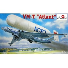 AMO-72015 1/72 Myasischev VM-T Atlant Heavy Transport System model kit