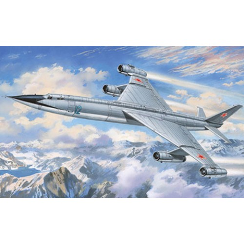 AMO-72016 1/72 Myasischev M-50A Heavy Strategic Bomber ('Bounder' NATO-designation) model kit