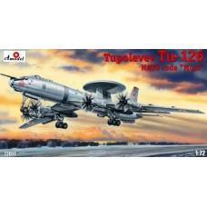 AMO-72017 1/72 Tupolev Tu-126 NATO Code 'Moss' Soviet AWACS Aircraft model kit