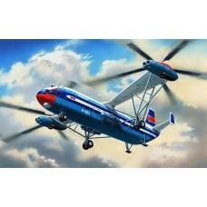 AMO-72018 1/72 Mil Mi-12/V-12 'Homer' Soviet Heavy Helicopter model kit