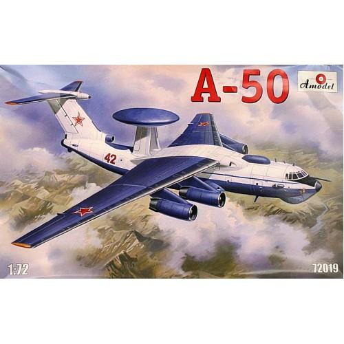 AMO-72019 1/72 Ilyushin/Beriev A-50 Shmel (NATO-code 'Mainstay') Russian AEW Aircraft model kit