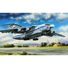 AMO-72025 1/72 Beriev A-60 Aircraft with Airborne Laser Laboratory (Laser Battle Complex) model kit
