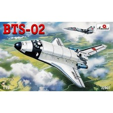 AMO-72027 1/72 BTS-02 'Buran' Space Shuttle (Test Version) model kit