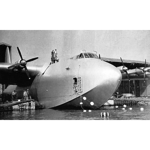 AMO-72029 1/72 Hughes H-4 Hercules 'Spruce Goose' Giant Flying Boat registration NX37602 model kit