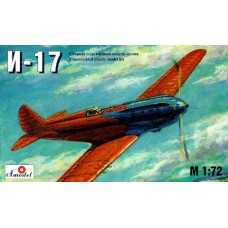 AMO-7203 1/72 Polikarpov I-17 pre-WW2 fighter model kit