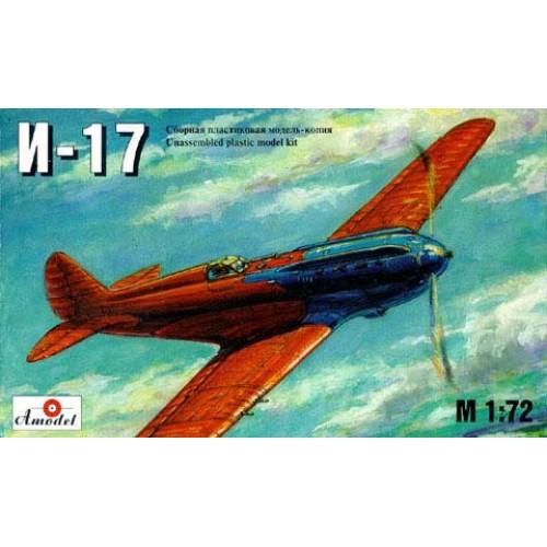 AMO-7203 1/72 Polikarpov I-17 pre-WW2 fighter model kit