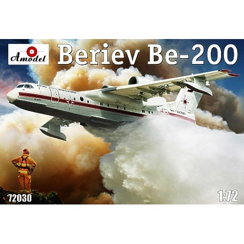 AMO-72030 1/72 Beriev Be-200 Russian Multipurpose Amphibious Aircraft model kit