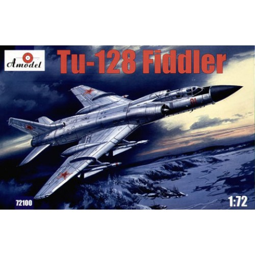 AMO-72100 1/72 Tupolev Tu-128 Fiddler Soviet Air Defence Long-Range Interceptor model kit