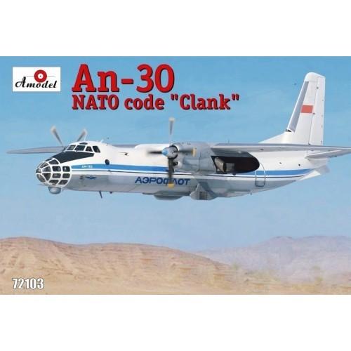 AMO-72103 1/72 An-30 Aeroflot model kit