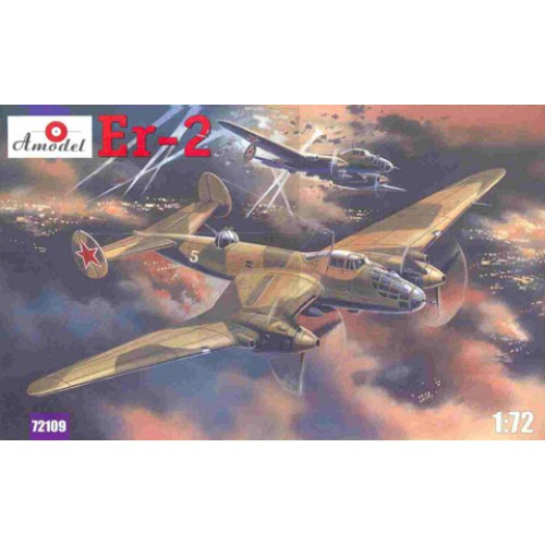 AMO-72109 1/72 Yermolayev Yer-2 Soviet WW2 Long-Range Bomber model kit