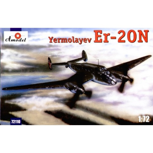 AMO-72110 1/72 Yermolaev Er-2ON Soviet WW2 Special Transport Aircraft model kit