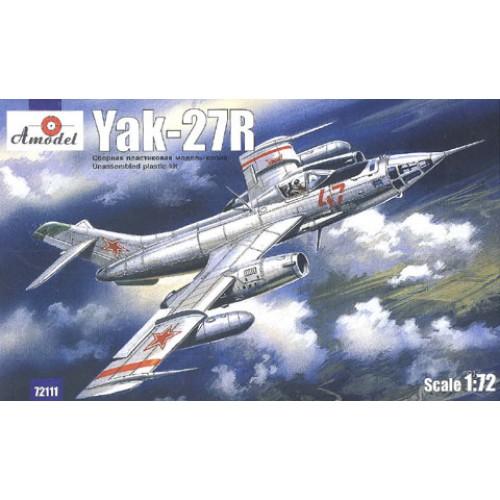 AMO-72111 1/72 Yakovlev Yak-27R Soviet Reconnaissance Aircraft model kit