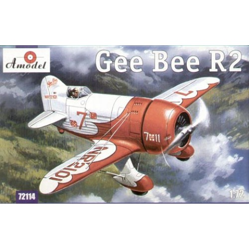 AMO-72114 1/72 Gee Bee Super Sportster R2 Aircraft model kit