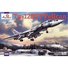 AMO-72115 1/72 Tupolev Tu-128UT Pelican Soviet Longe-Range Fighter-Interceptor (training version) model kit