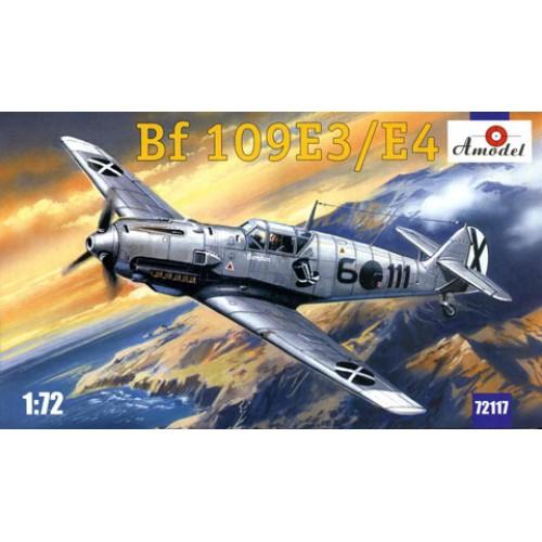 AMO-72117 1/72 Bf109 E3/E4 model kit