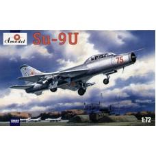 AMO-72122 1/72 Sukhoi Su-9U Fishpot Soviet Trainer Interceptor Fighter model kit