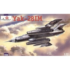 AMO-72126 1/72 Yakovlev Yak-28IM Brewer-C Soviet Jet Fighter-Bomber model kit