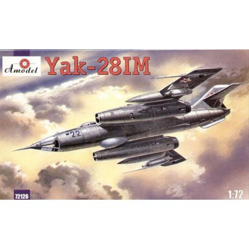 AMO-72126 1/72 Yakovlev Yak-28IM Brewer-C Soviet Jet Fighter-Bomber model kit