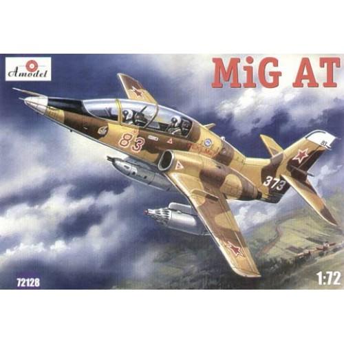 AMO-72128 1/72 MiG-AT (late version) Russian modern combat-training aircraft model kit