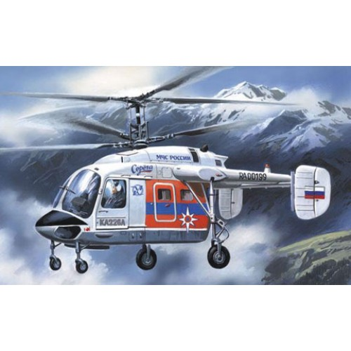 AMO-72129 1/72 Kamov Ka-226 Serega Russian Emergency Situations Ministry (MChS) helicopter model kit