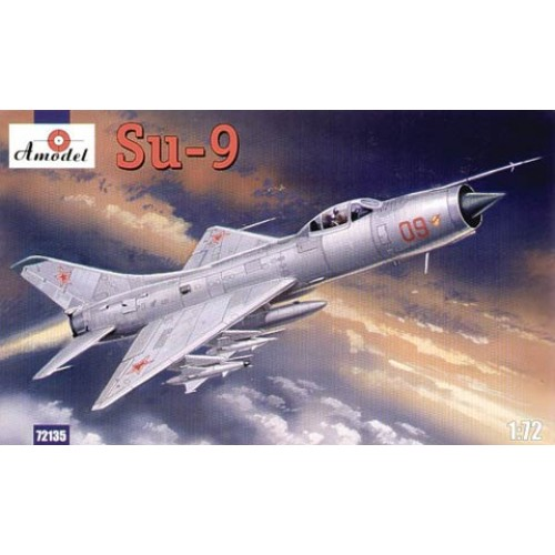 AMO-72135 1/72 Sukhoi Su-9 Soviet Air Defence Fighter-Interceptor model kit
